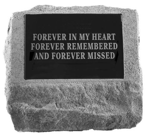 Grave Stone Personalized Marker Urn